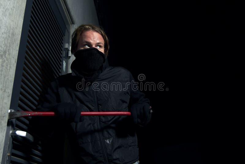 Einbrecher stockfoto