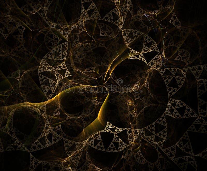 Eindeloos abstract beeld royalty-vrije illustratie