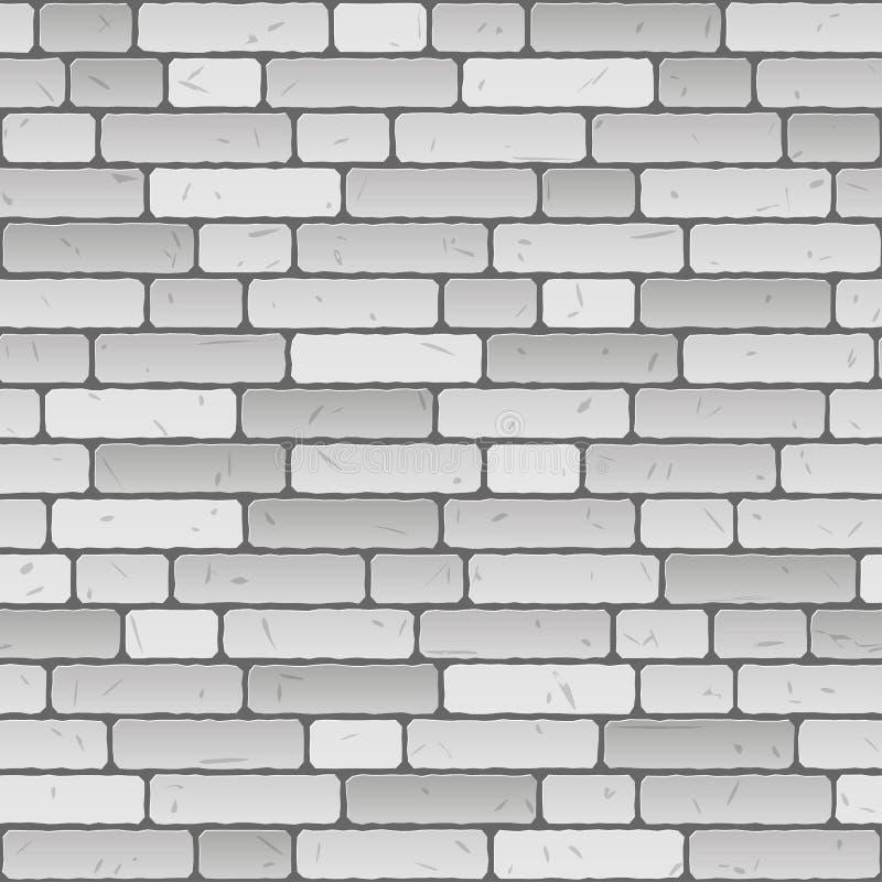 Eindeloze bakstenen muurachtergrond - vector illustratie