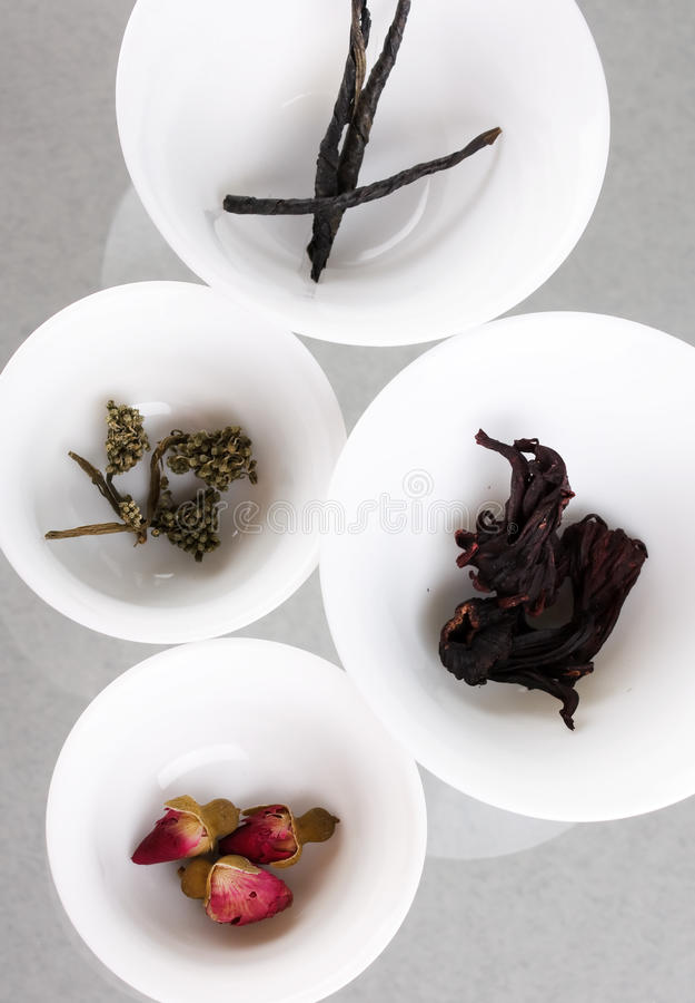Eindeutige Arten des Tees lizenzfreies stockfoto