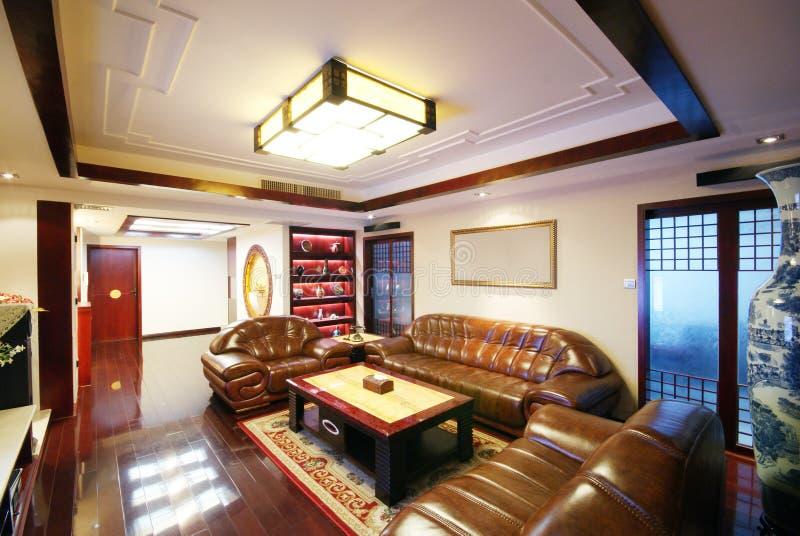 Eindeutige Dekoration und bequemes Haus lizenzfreie stockfotos