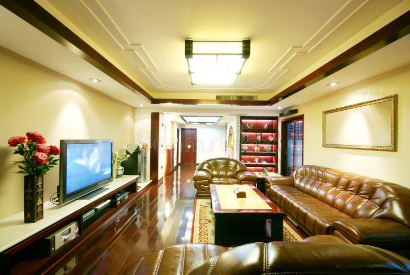 Eindeutige Dekoration und bequemes Haus stockfoto