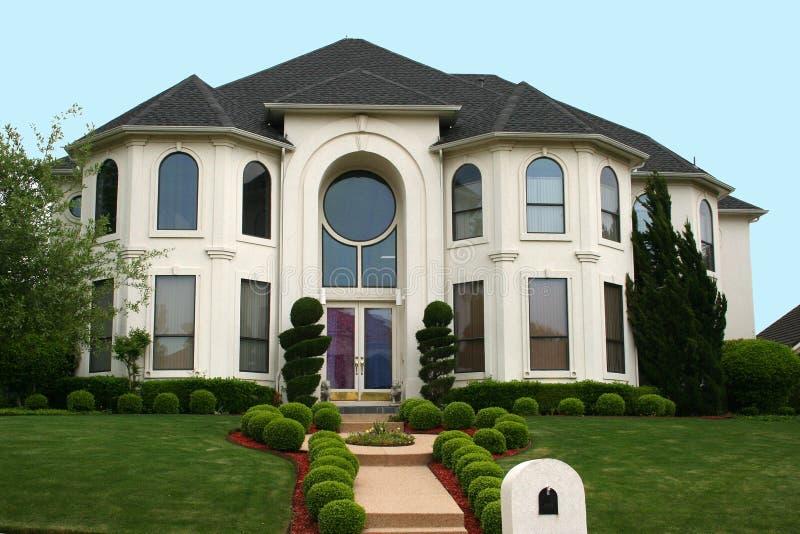 Eindeutiges Haus stockbilder