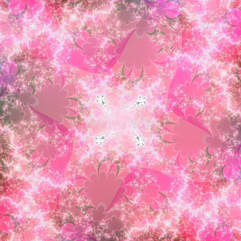 Eindeutiges rosafarbenes abstraktes Hintergrund-Muster lizenzfreie abbildung