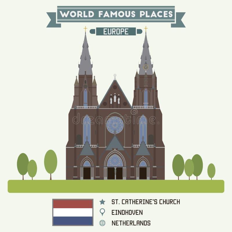 Eindhoven illustration libre de droits