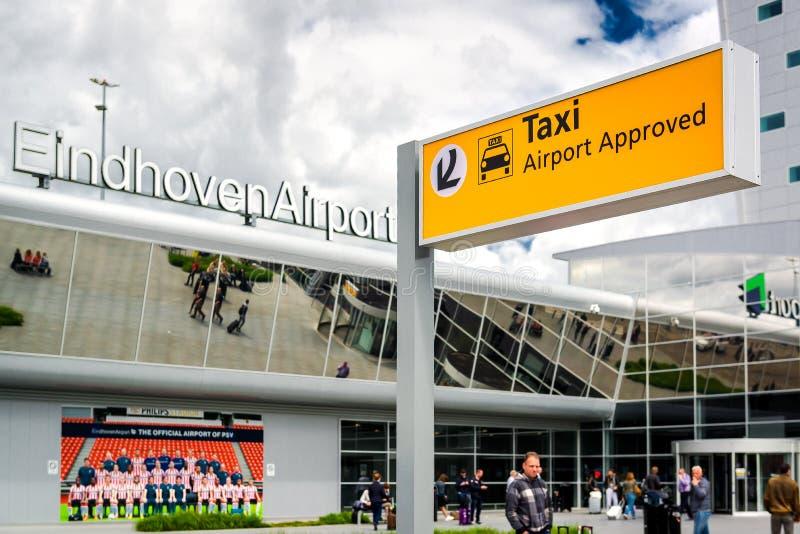 Eindhoven lotnisko obraz royalty free
