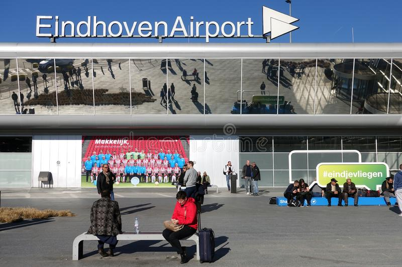 Eindhoven Airport, The Netherlands stock photo