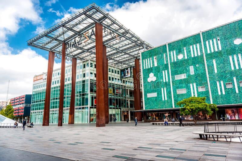 Eindhoven square stock image