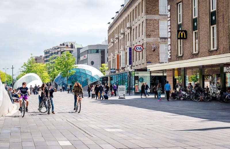 Eindhoven square stock photos