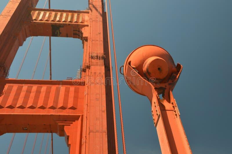 Eindrücke von Golden gate bridge in San Francisco ab dem 2. Mai 2017, Kalifornien USA lizenzfreies stockfoto