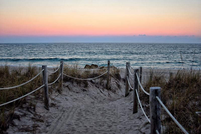 Eindringen-Strand stockfoto