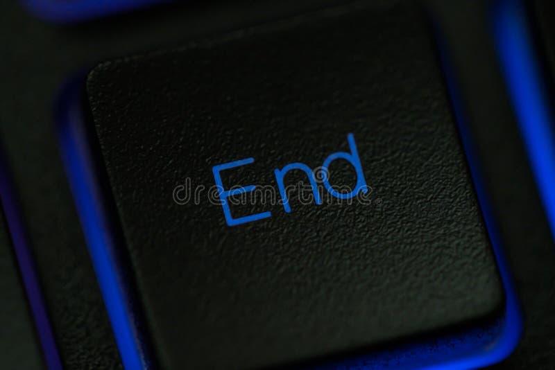 Download Eindsleutel Op Toetsenbordmacro Stock Foto - Afbeelding bestaande uit toetsenbord, deadline: 107704714