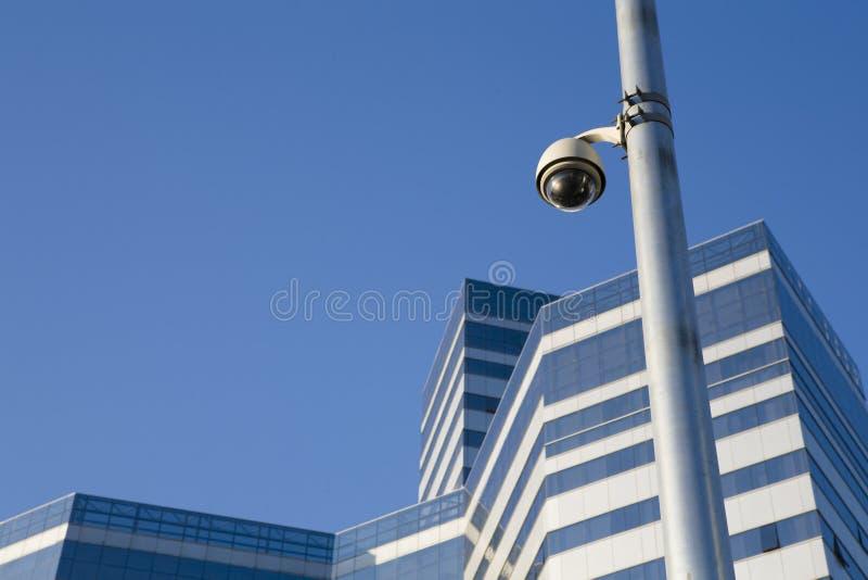 Eine Überwachungskamera lizenzfreies stockfoto