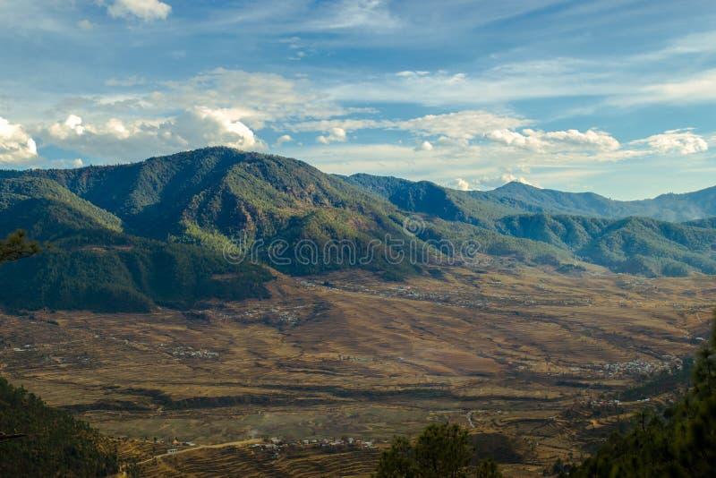 Eine Abendansicht eines Berges! lizenzfreie stockbilder