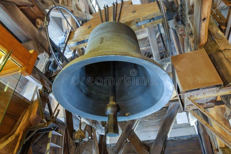 Eine alte Glocke stockfoto