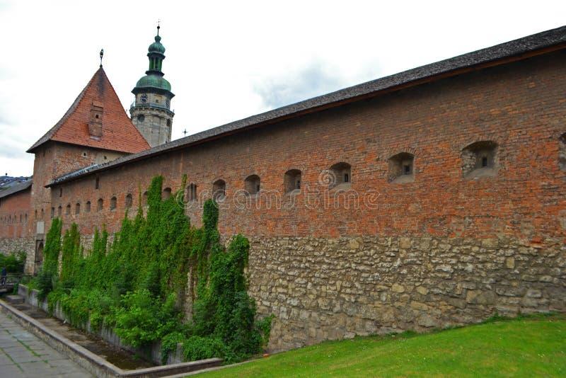 Eine alte mittelalterliche Festung stockfoto