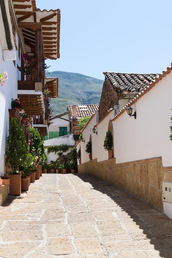 Eine alte Straße stockfotos