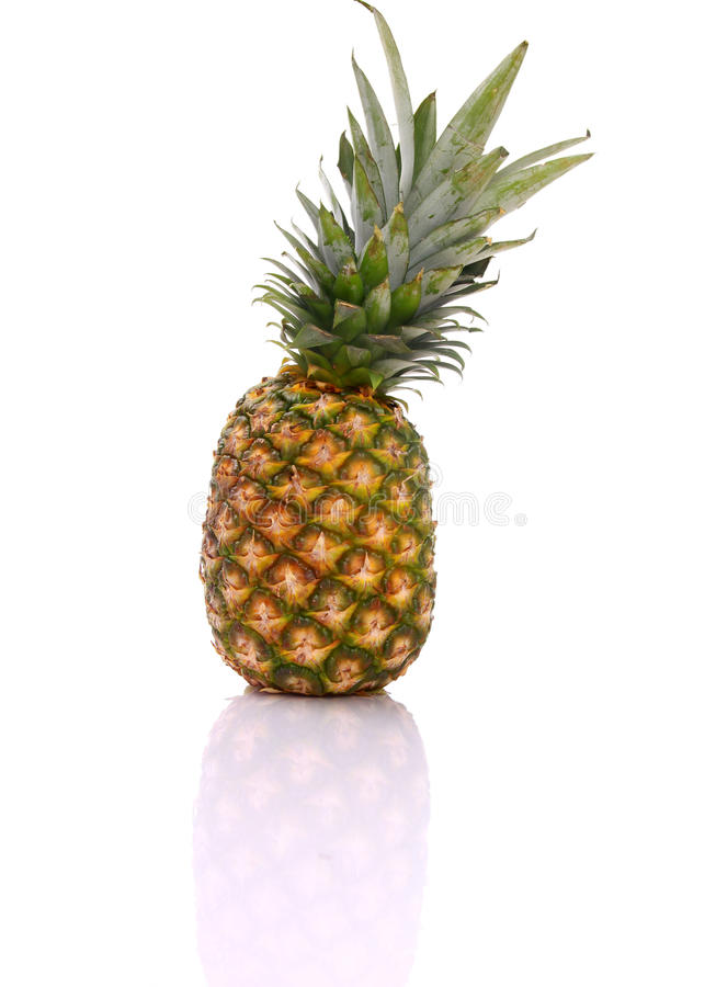 Eine Ananas mit lizenzfreies stockfoto