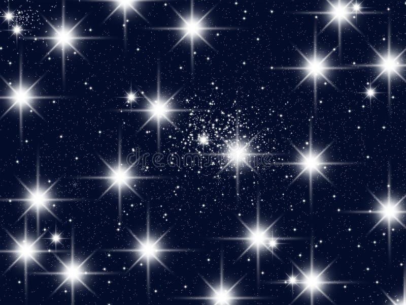 Eine Ansammlung der Sterne lizenzfreie abbildung