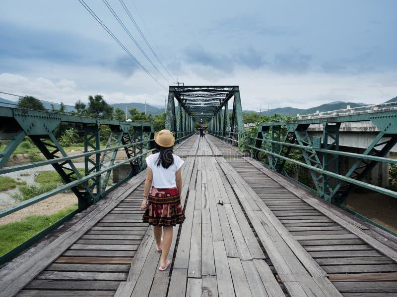 Eine Ansicht der alten Eisenbahn stockfotos