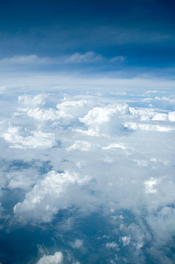 Eine Ansicht der Himmel lizenzfreies stockfoto