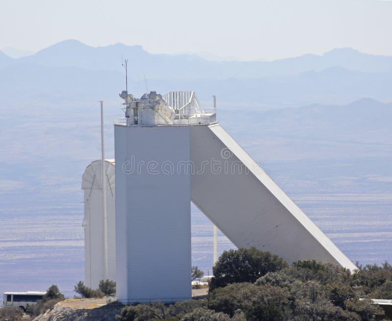 Eine Ansicht des McMath-Pierce-Solarteleskops stockbild