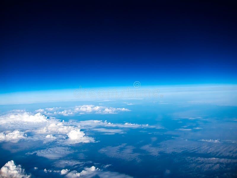 Eine Ansicht vom Himmel lizenzfreies stockbild