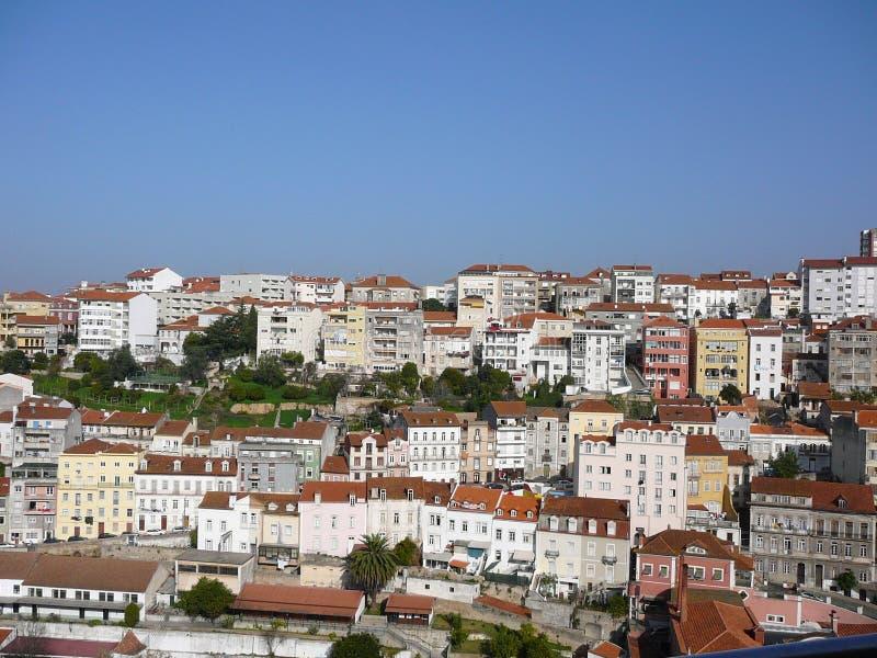 Eine Ansicht von Coimbra stockfotos