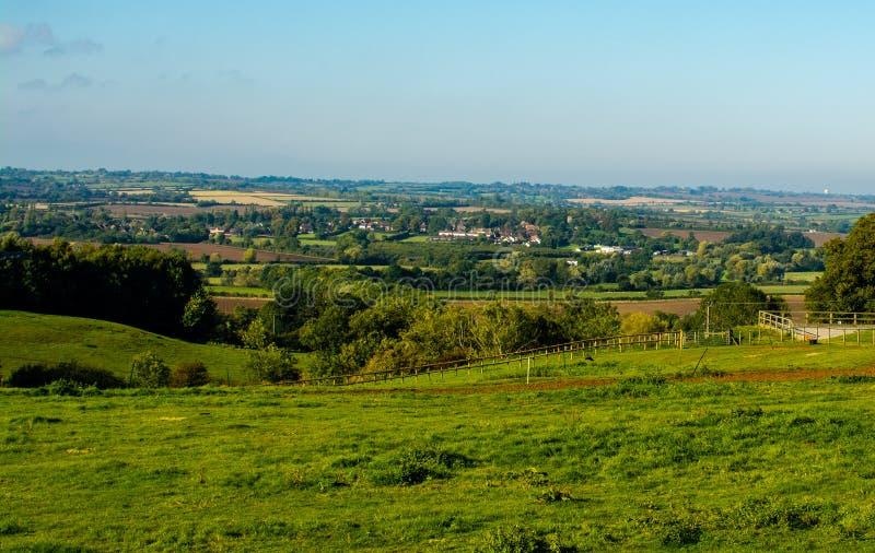 Eine Ansicht von großem Brickhill lizenzfreie stockbilder