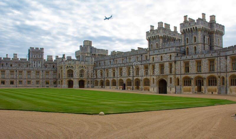 Eine Ansicht von Windsor Castle stockbilder