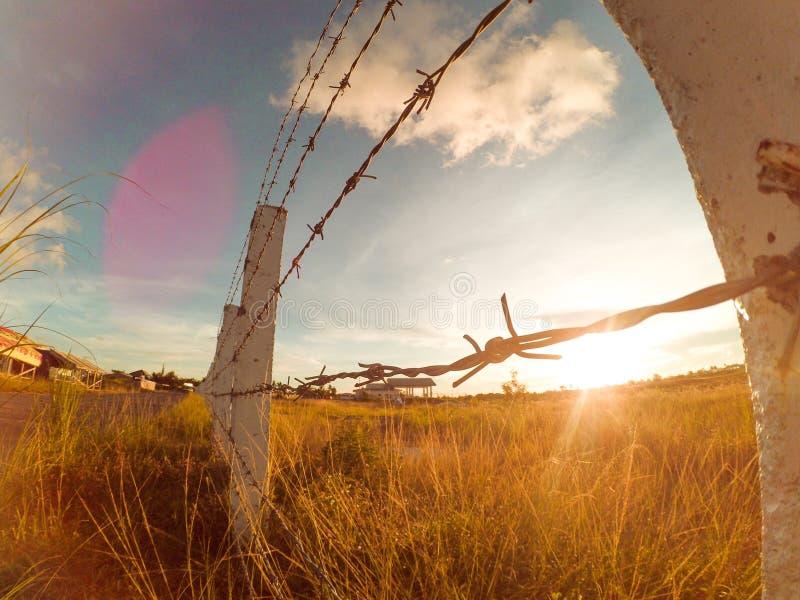 Eine atemberaubende Ansicht an einem wunderbaren Nachmittag lizenzfreies stockbild