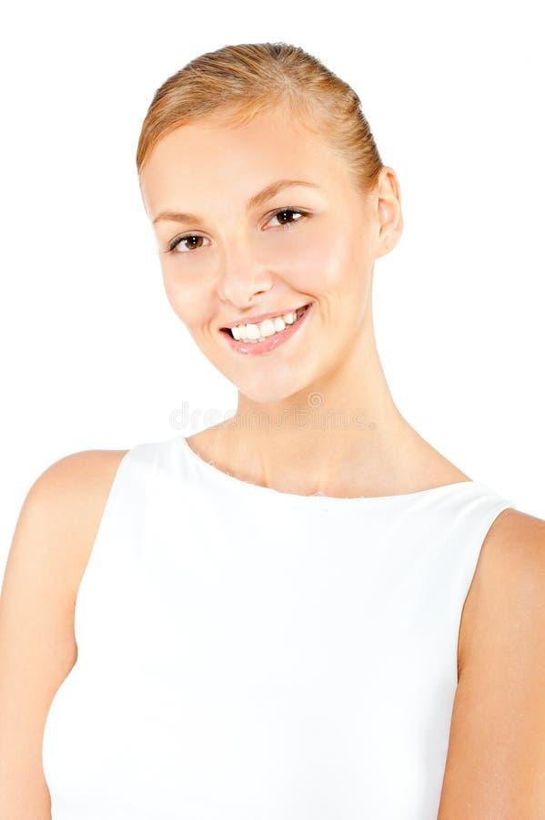 Eine attraktive kaukasische Frau stockfotos