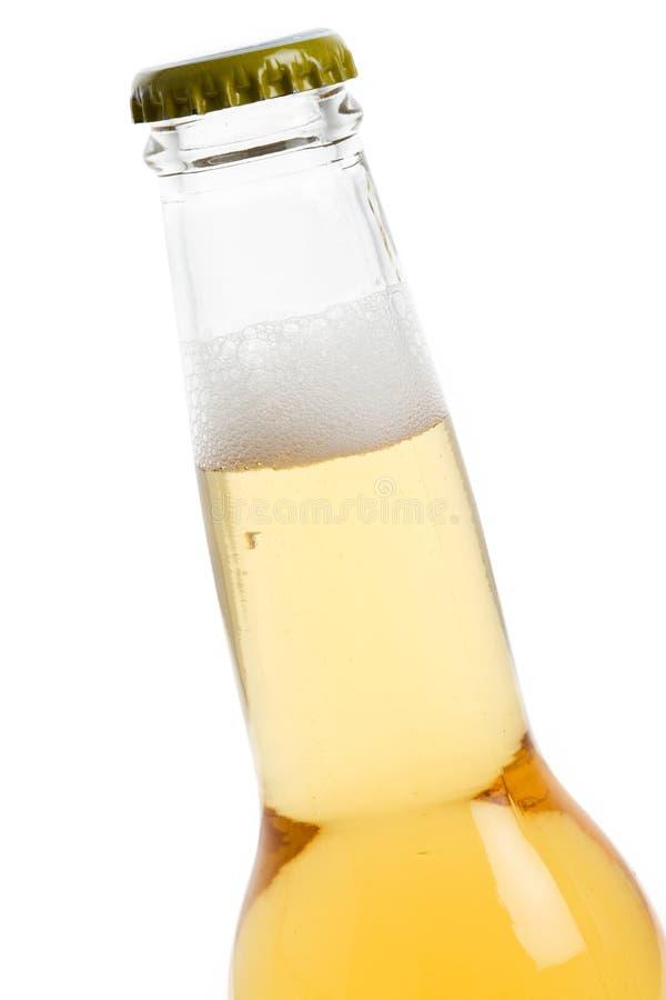 Eine Bierflasche stockfoto
