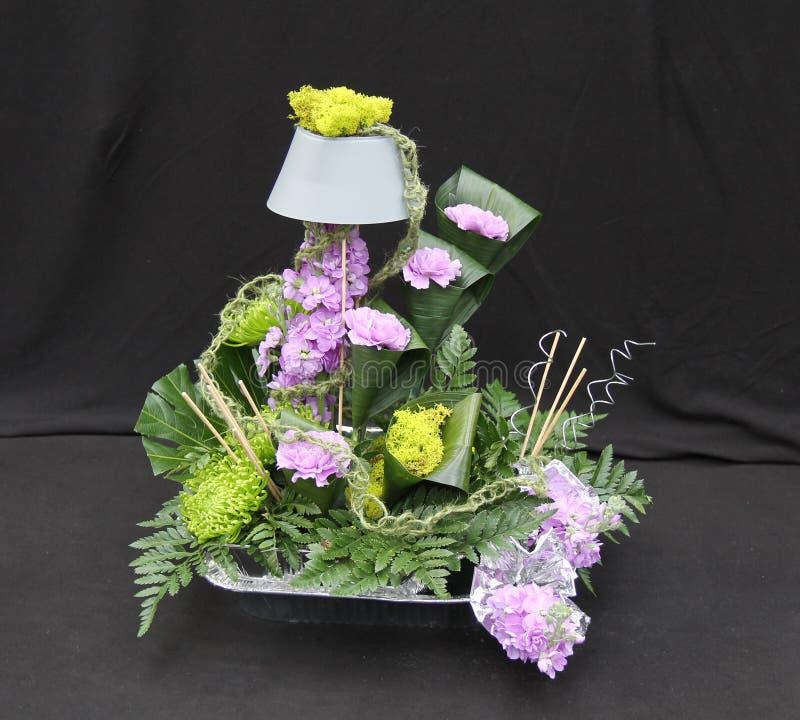 Eine Blumenanordnung stockbilder