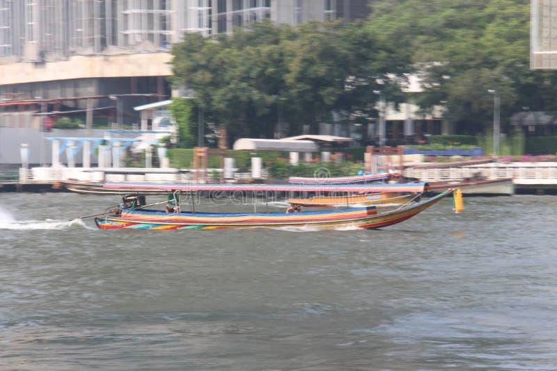 Eine Bootsverschiebenphotographie lizenzfreies stockbild