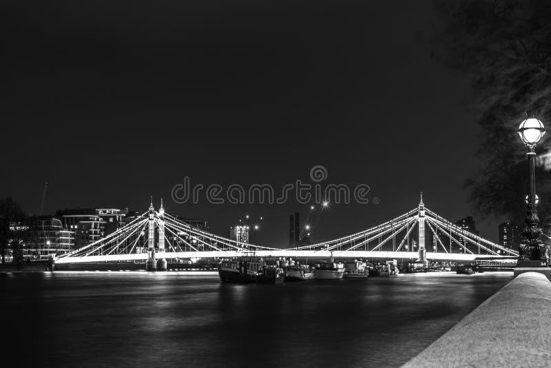 Eine Brücke in London stockbild