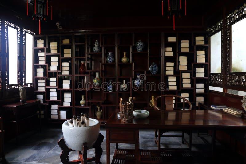 Eine chinesische alte Studie lizenzfreies stockfoto