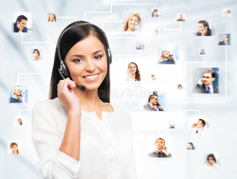 Eine Collage von jungen Geschäftsleuten stockfotografie