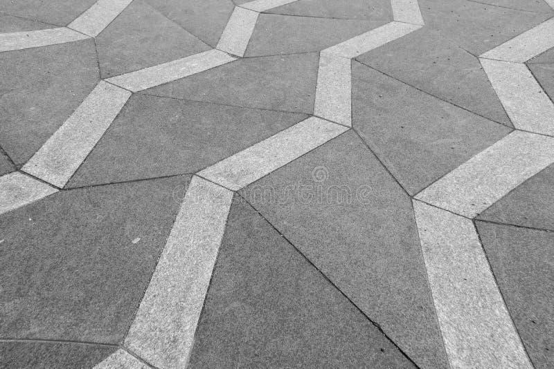 Eine desaturated und verzerrte Fotografie eines kopierten Bürgersteigs I lizenzfreie stockfotografie