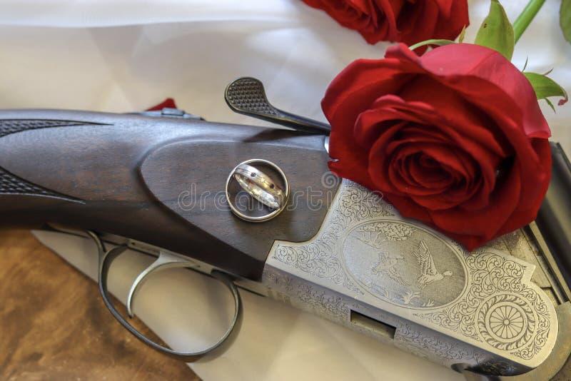 Eine explosive Situation auf Hochzeit, ist es nur ein Witz stockbilder