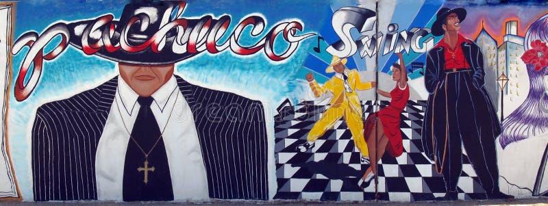 Eine extravagante Nebenkultur des mexiko-amerikanischen Erbes stockfotos