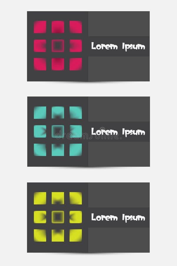 Download Eine Frische Moderne Besuchskarte Vektor Abbildung - Illustration von abbildung, kunst: 27731715