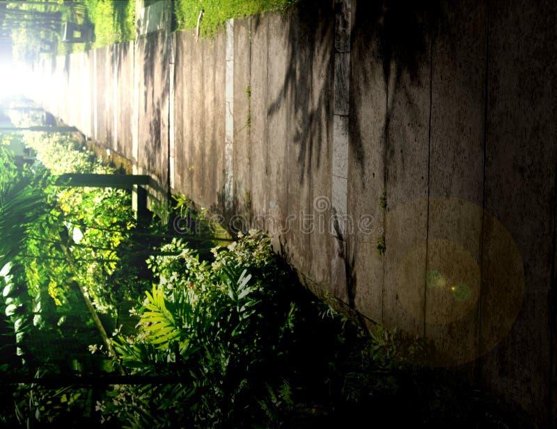Eine Gartenbahn Stockfotografie