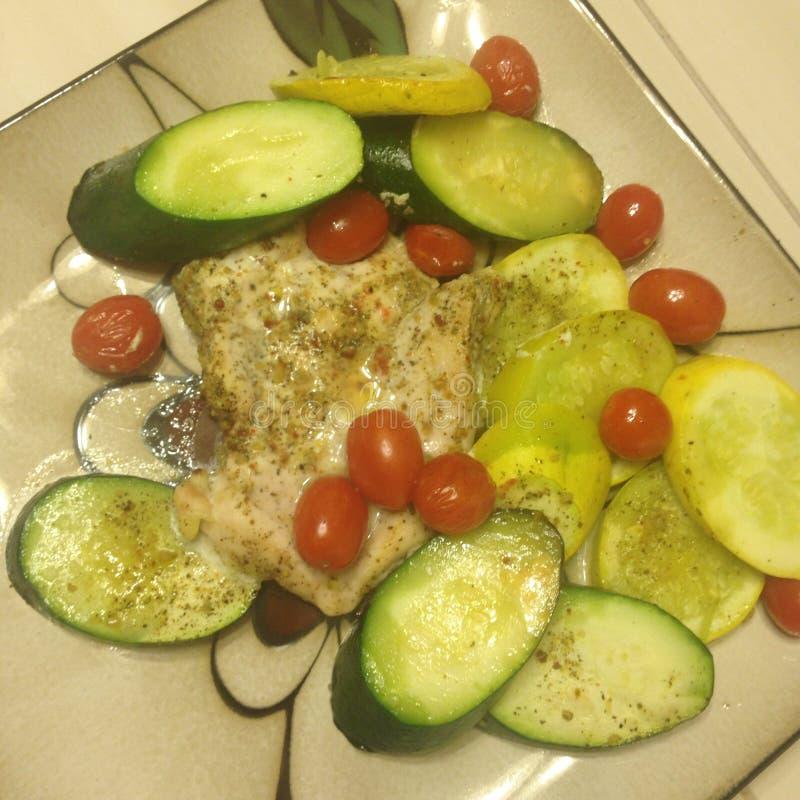 Eine gesunde Mahlzeit stockfoto