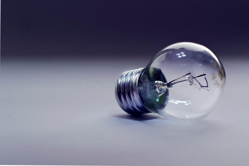 Eine Glasbirne lizenzfreies stockfoto