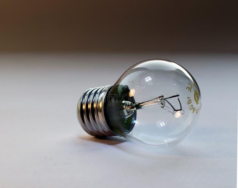 Eine Glasbirne lizenzfreies stockbild