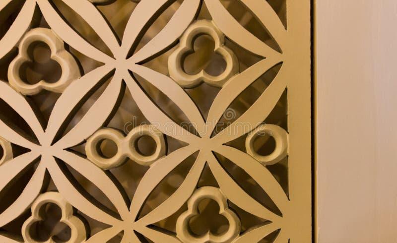 Eine goldene Blume des Zauns lizenzfreies stockbild