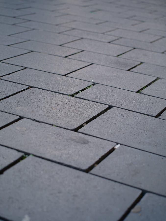 Eine graue Plasterung stockfotografie