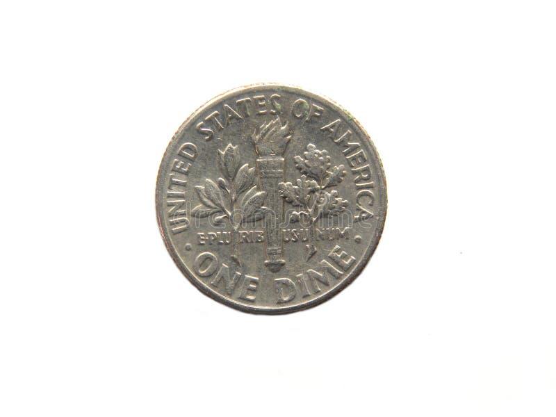 Eine Groschen-Münze lizenzfreie stockfotografie