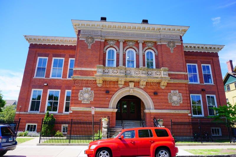 Eine Grundschule in New-Haven stockfotos